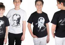 izmir atatürk baskılı tişört